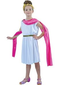 Girls Greek or Roman Goddess costume